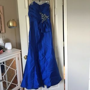 Terani Couture Royal Blue Gown